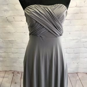 Ann Taylor strapless dress